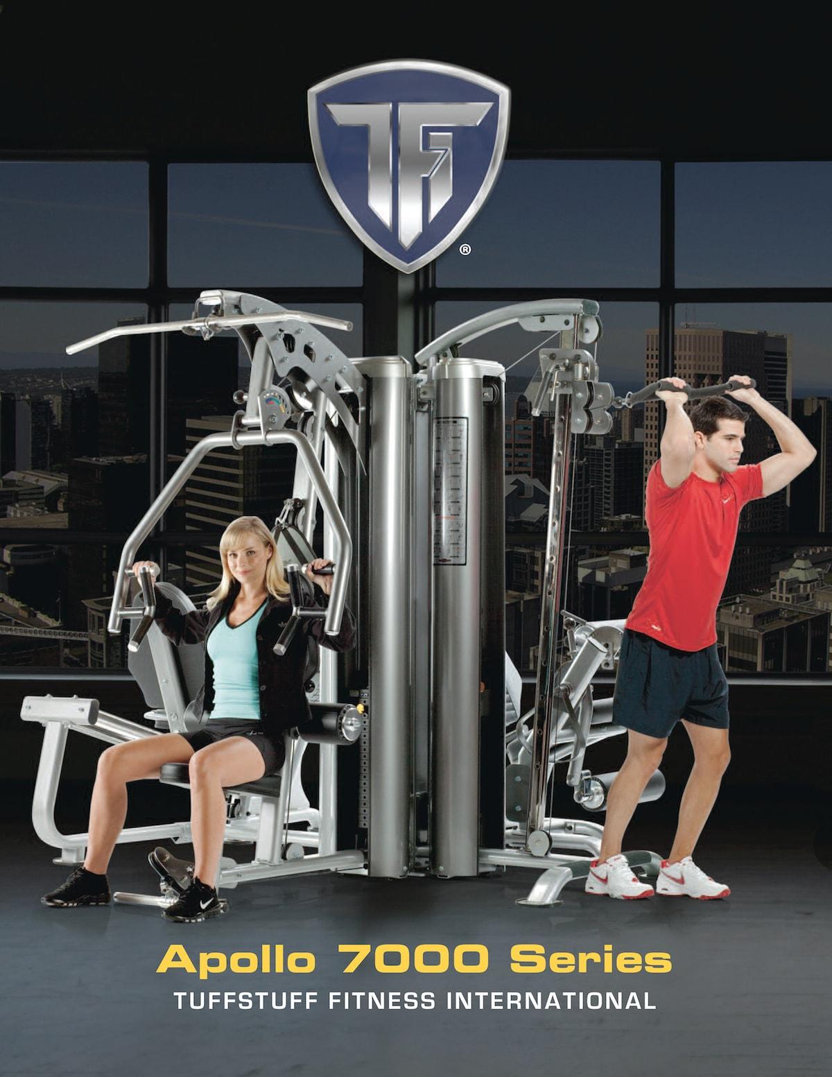 TuffStuff Apollo 7000 Multi Stack Gym Brochure