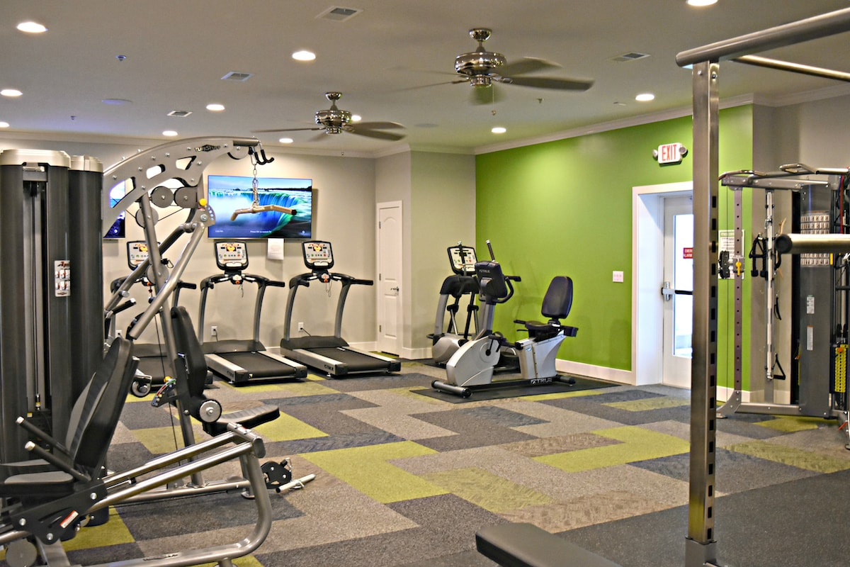 Commercial Fitness Room by Elite Exercise Equipment