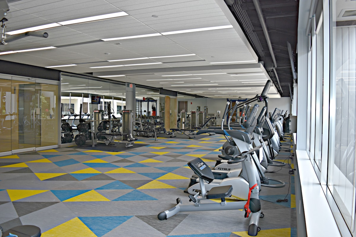 Commercial Gym Install by Elite Exercise Equipment - Exercise Bikes