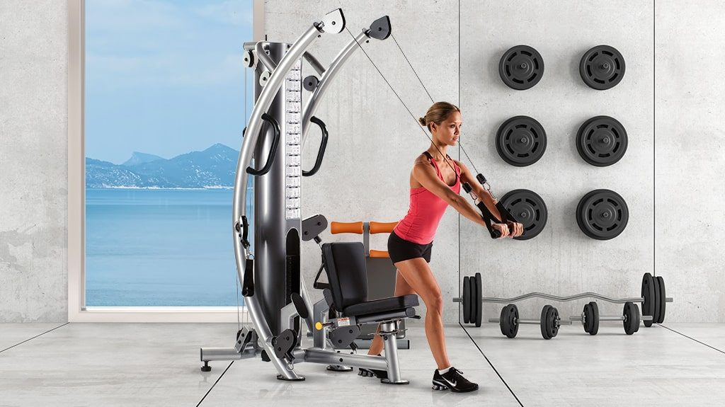 TuffStuff Fitness Six-Pak Functional Trainer at Elite Exercise