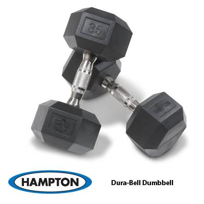 Hampton Urethane Dura-Bell Dumbbells