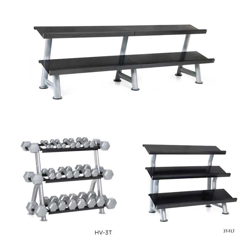 Hampton Fitness Flat Racks