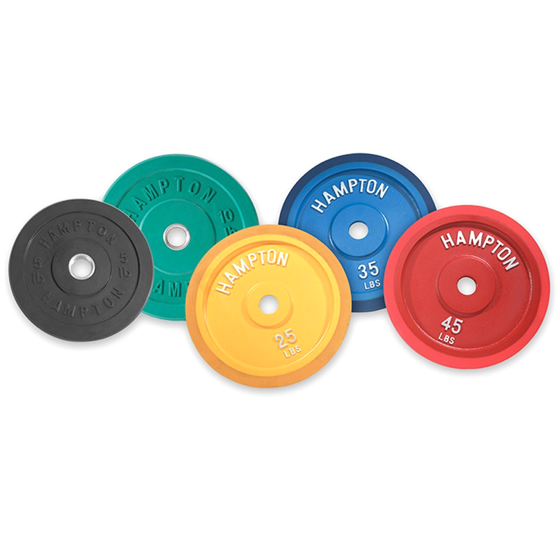 Hampton Olympic Bumper Plates