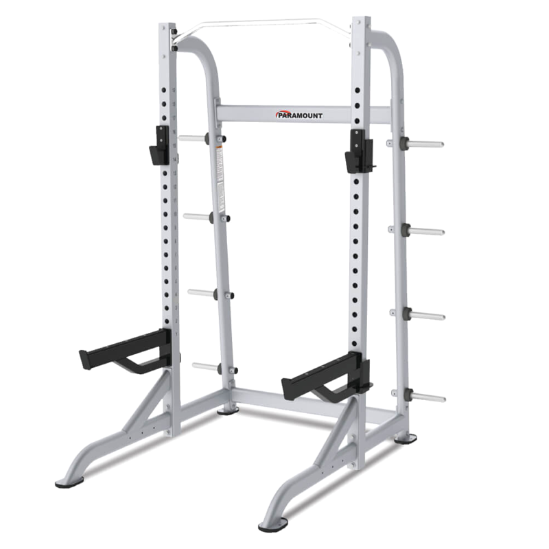 Paramount XFW-8100 Half Rack with Plate Holders