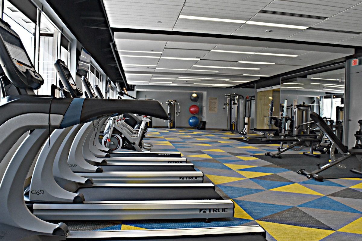 Commercial Gym installed by Elite Exercise Equipment