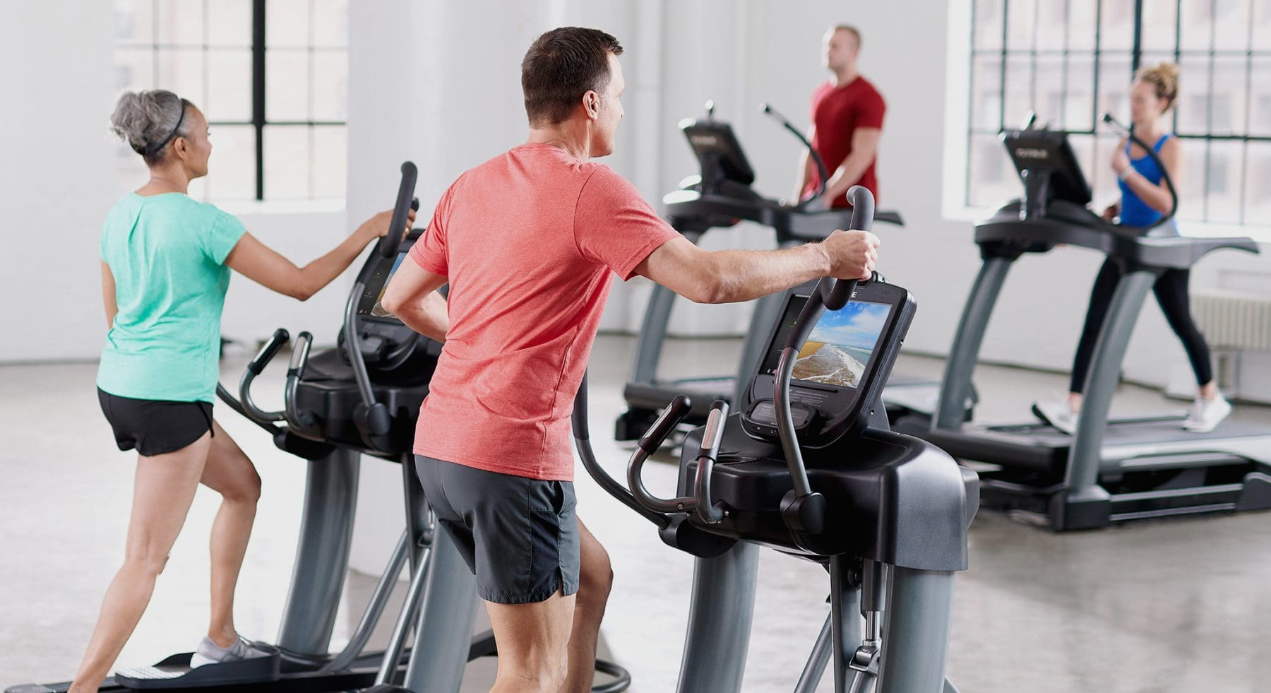 TRUE Fitness Commercial Elliptical Trainers