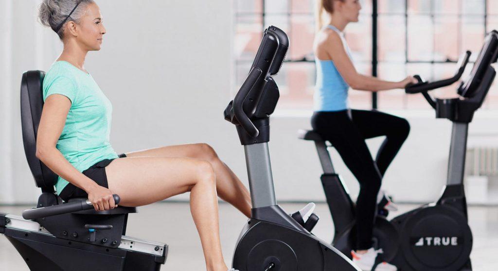 TRUE Fitness Recumbent Exercise Bikes