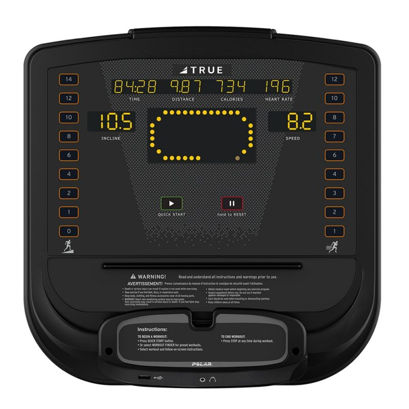 TRUE IGNITE HIIT Console Display - JPG